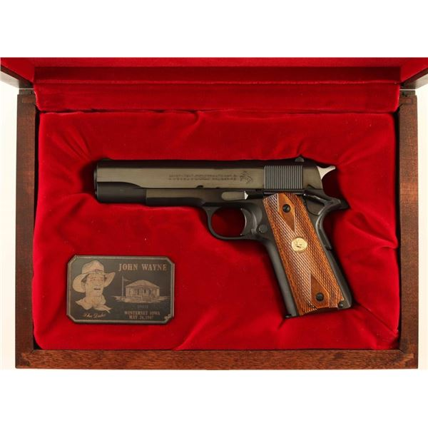 Colt Government Model Owned by John Wayne