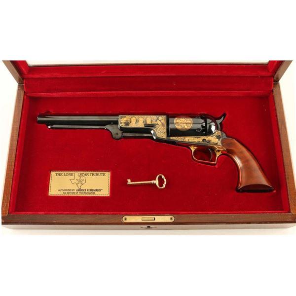 """The Lone Star Tribute Revolver"" Walker .44 Cal"
