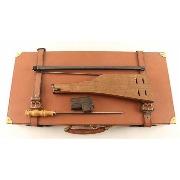 Leather Luggage Case for Luger Carbine