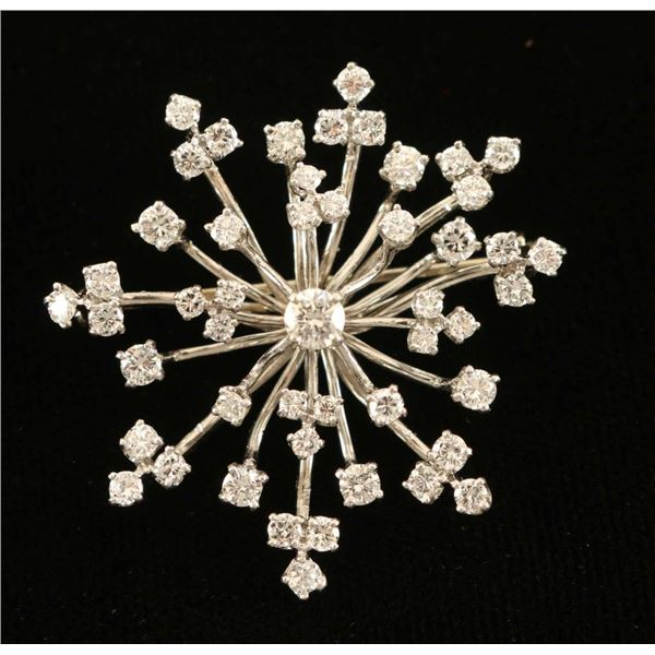 Stunning Diamond Pin
