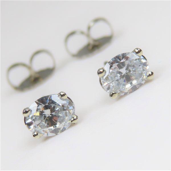 Gorgeous Fine Diamond Stud Earrings