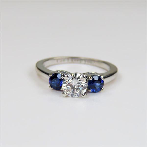 Beautiful High Quality Diamond and Blue