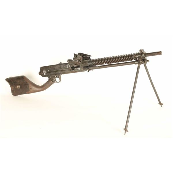 Japanese WWII Type 11 Dummy MG Display Model