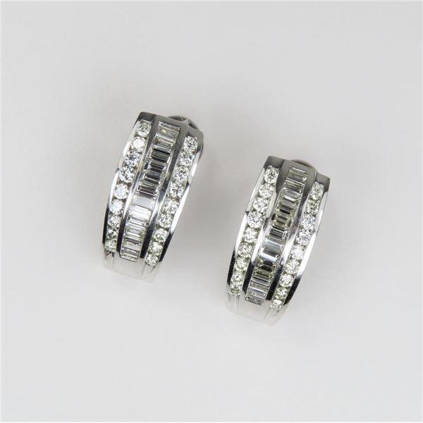Dazzling High Quality Diamond Earrings