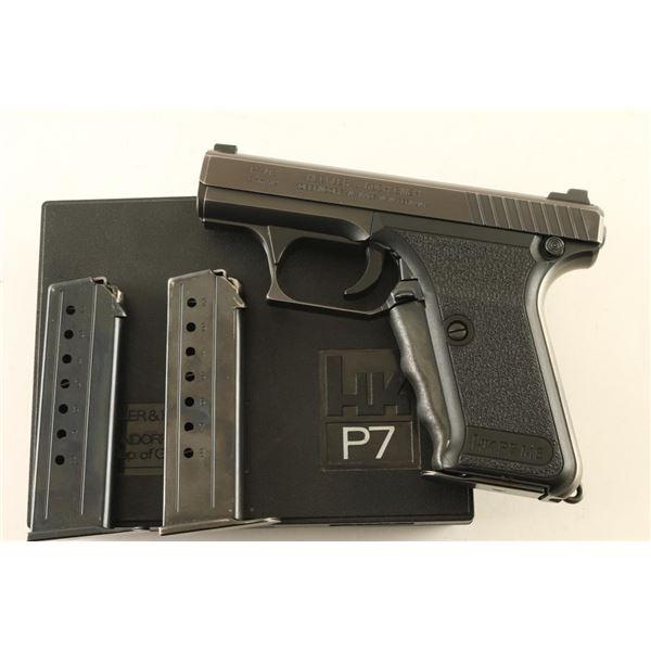 Heckler & Koch P7 M8 9mm SN: 89510