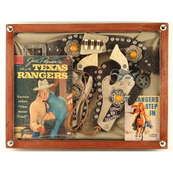 Pair of Texas Ranger Cap Guns