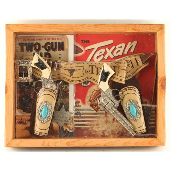 Pair of Texan Cap Guns