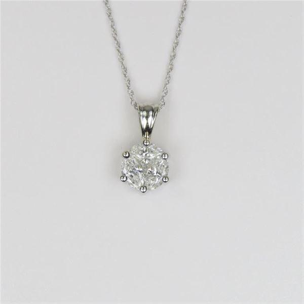 Beautiful Extra Fine Diamond Pendant
