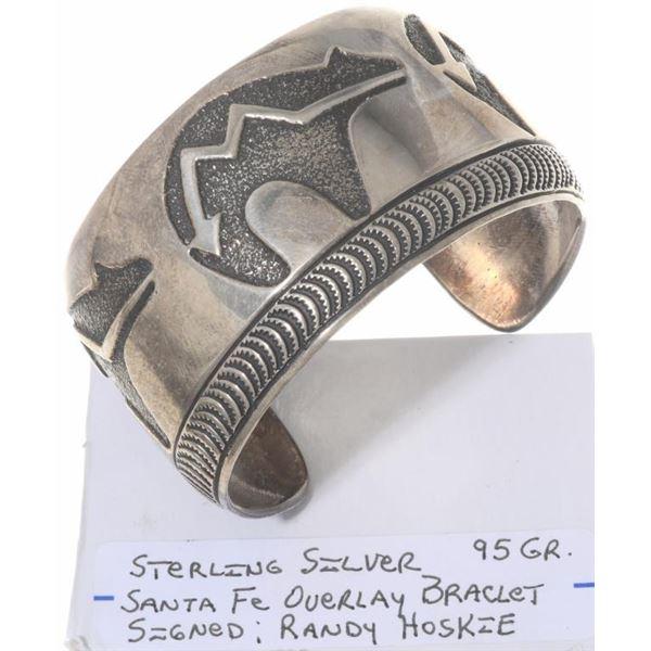 Hopi Sterling Silver Cuff