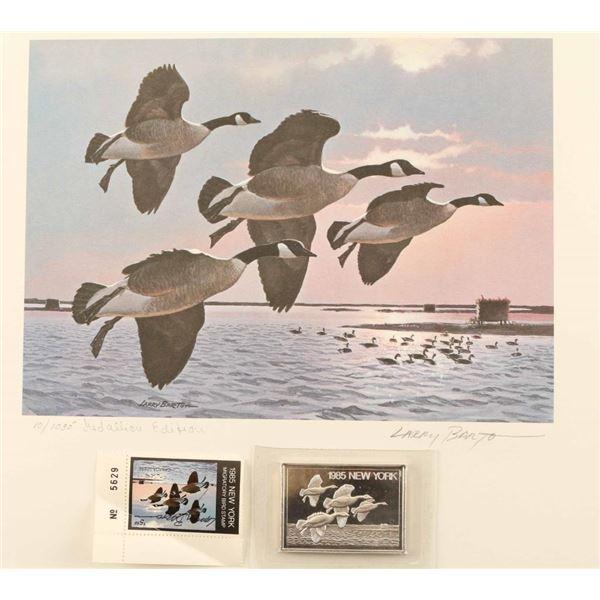 1985 New York Migratory Bird &