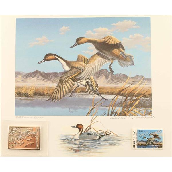 Utah II 1987/88 Duck Stamp Print