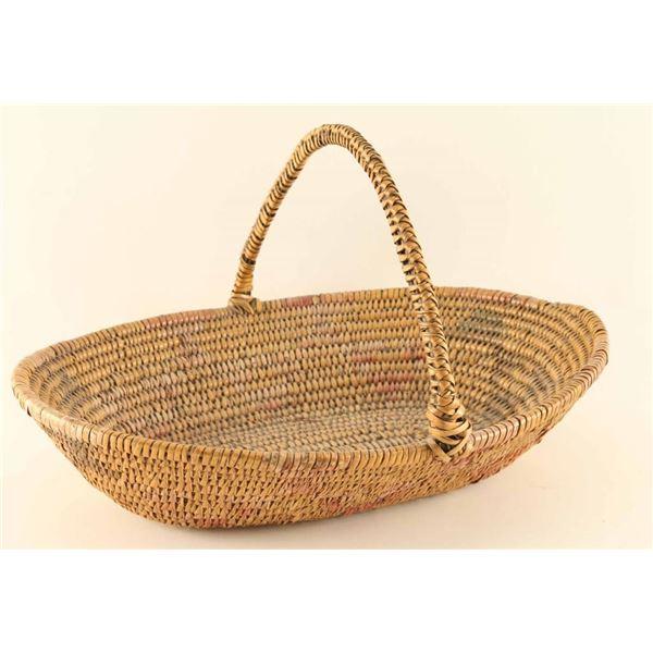 Plains Indian Gathering Basket