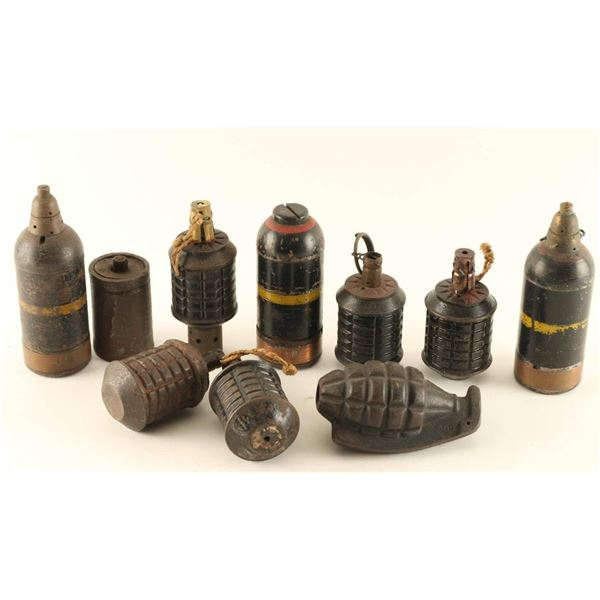 Lot of Grenades