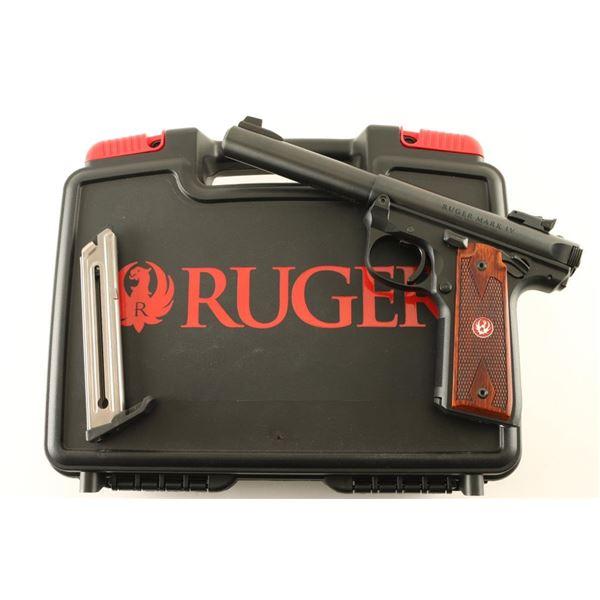 Ruger Mark IV 22LR SN: 500250897