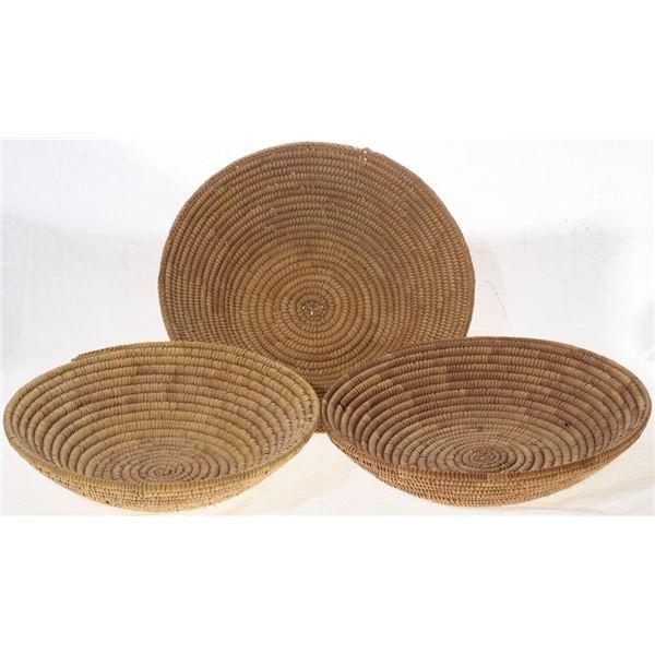 Set of (3) Seri Indian Tribe Tray Baskets