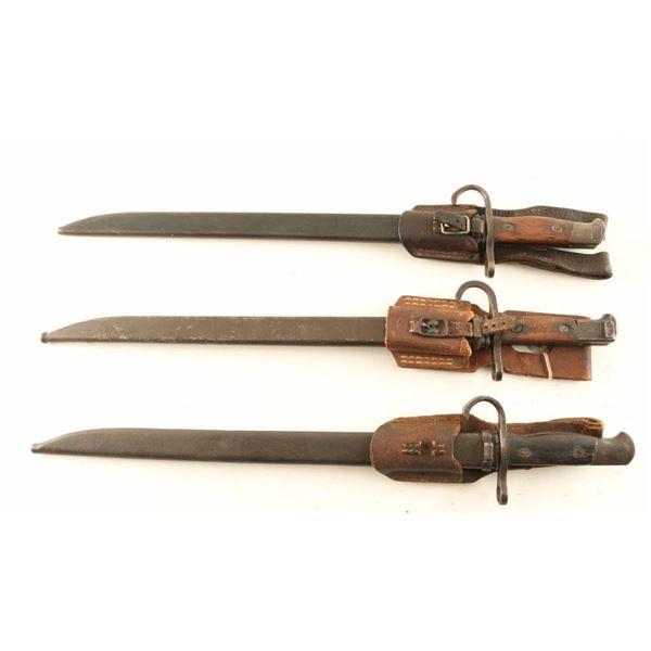 WWII Japanese Arisaka Bayonets