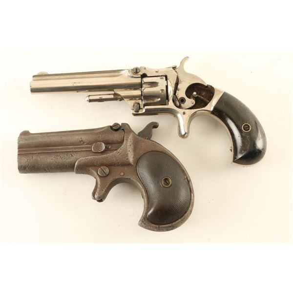 Collection of 2 Antique Handguns