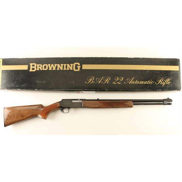 Browning BAR-22 .22 LR SN: 02249RR166