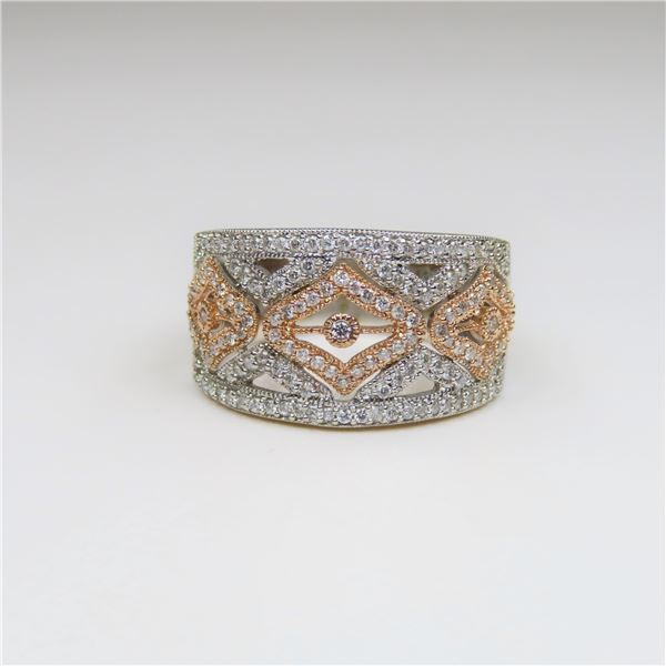 Beautifully Detailed Diamond Ring featuring