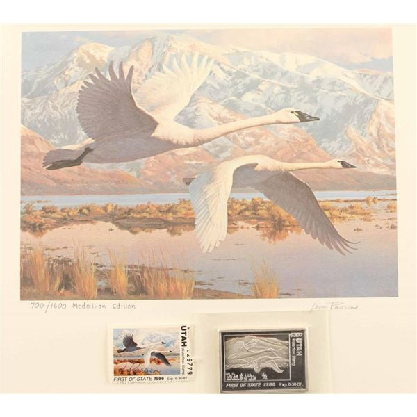 Utah Migratory Waterfowl Print