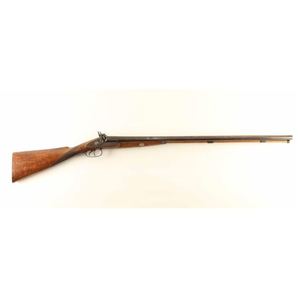 English Percussion SxS Shotgun 12ga NVSN