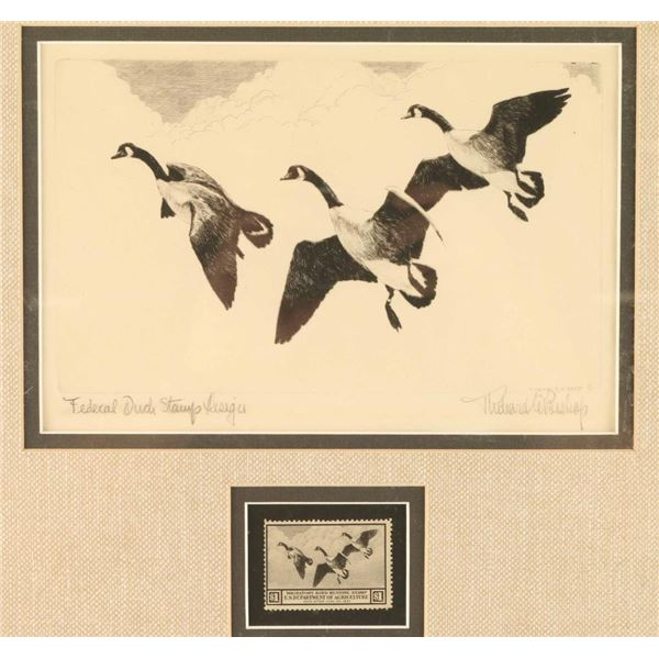 Fine Art Duck Stamp Etching