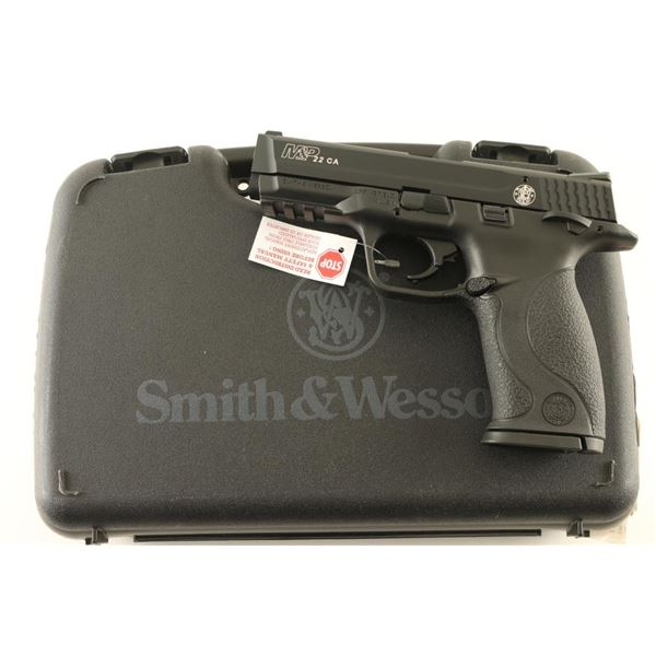 Smith & Wesson M&P22 CA .22 LR SN: MP114767