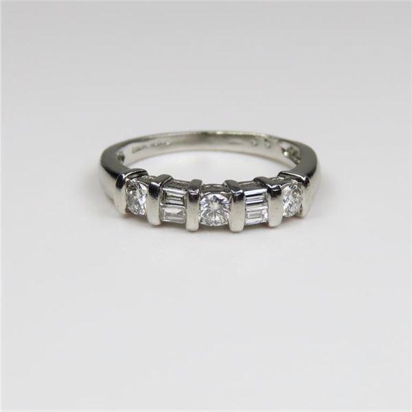 Fine Platinum Diamond Ring