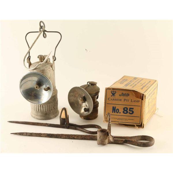 Miners Lamp Lot
