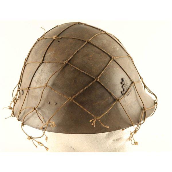 Japanese Naval Infantry Helmet