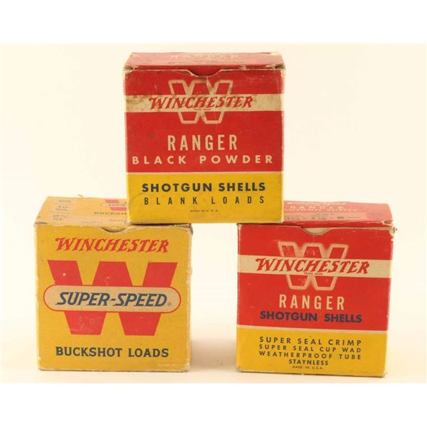 Lot of Vintage Winchester Ammo