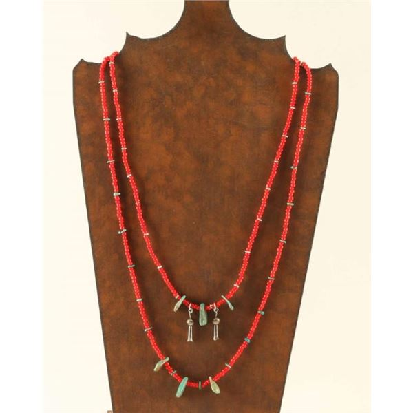 Collection of 2 Trade Bead Necklaces