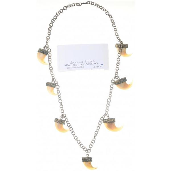 India Bear Claw Necklace