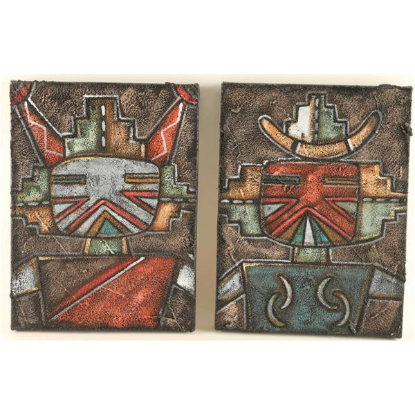 Lot of 2 Paintings by Kevin Quanie