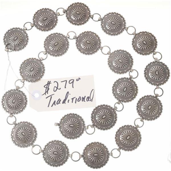 Lot of (3) Concho Belts