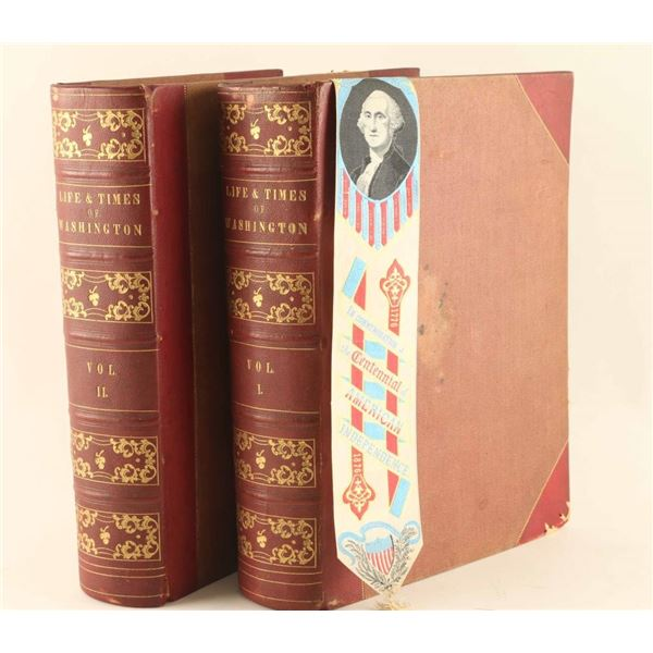 Life & Times of Washington Vol. I and II