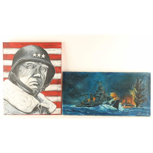 Lot of 2 Painting