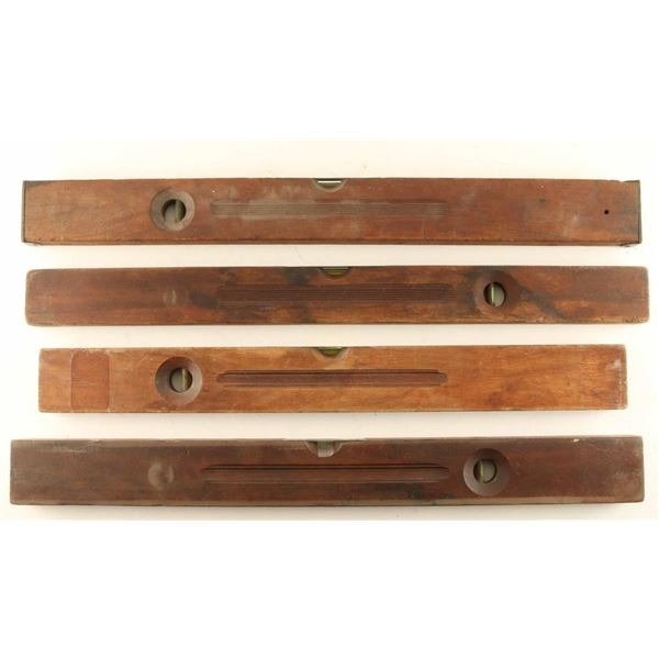 Lot of Winchester Wooden Levels