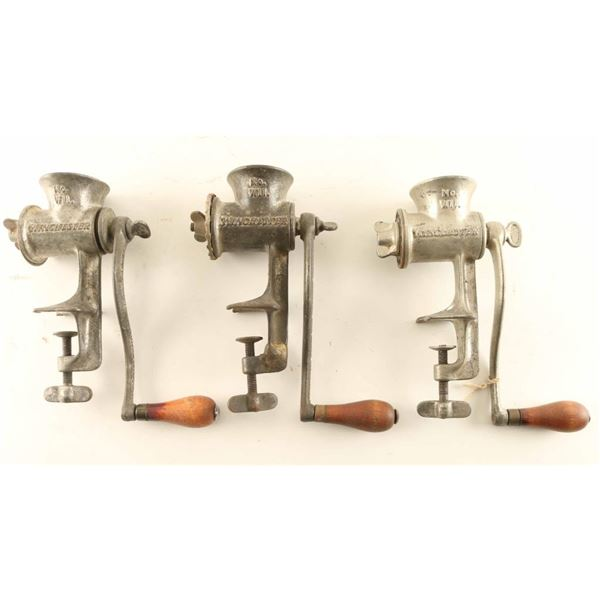Lot of (3) Winchester Food Grinders