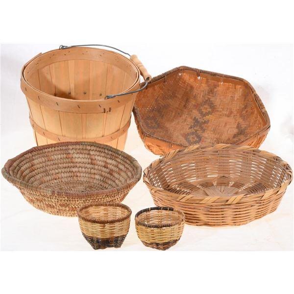 Set of (6) Southwest Baskets