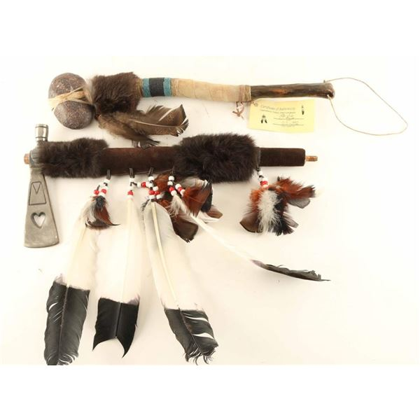 Lot of (2) Native American Weapons