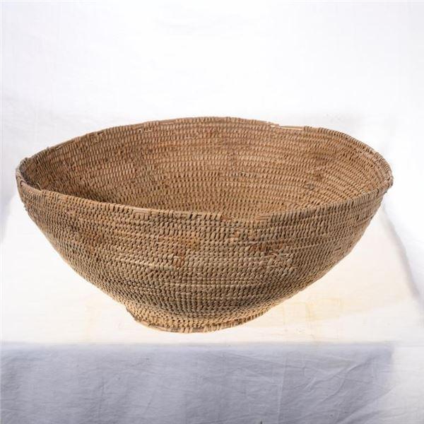 Large Southwest Hand Woven Basket