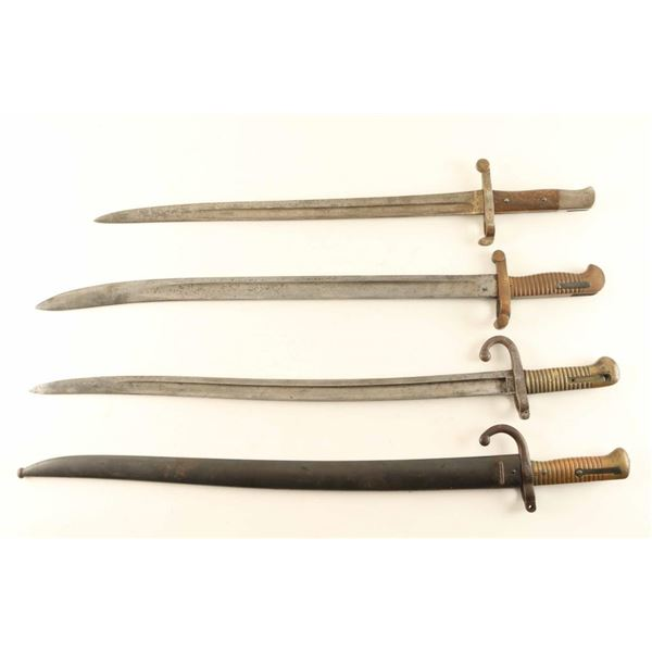 (3) French Chassepot 1866 Sword