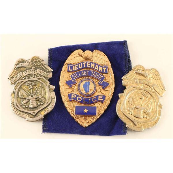 Badge Lot