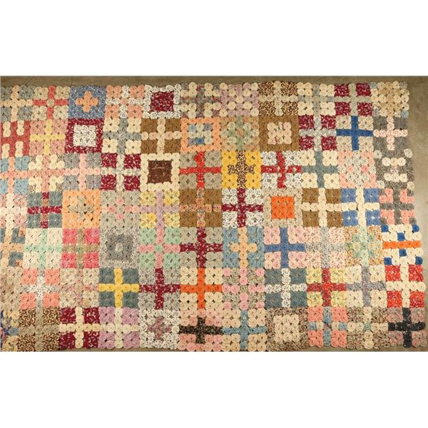 Lot of (3) Antique Quilts