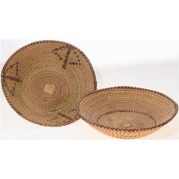 Set of Vintage Seri Tribe Woven Baskets