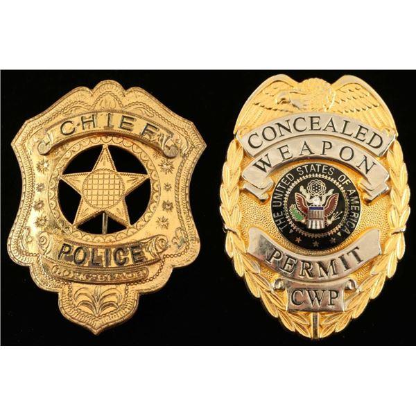 Obsolete Long Beach Police Badge
