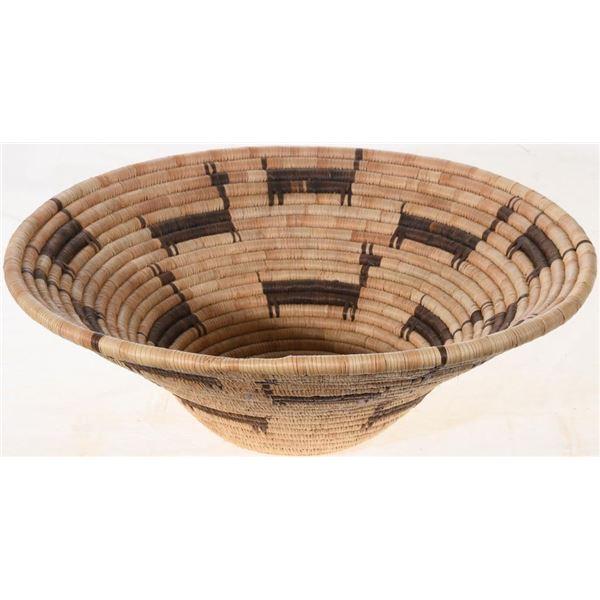 Polychrome Figural Seri Tribe Basket