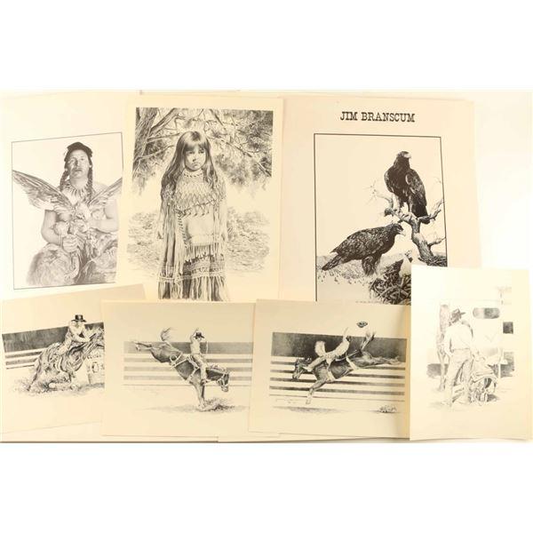 Large Lot of Jim Branscum Prints