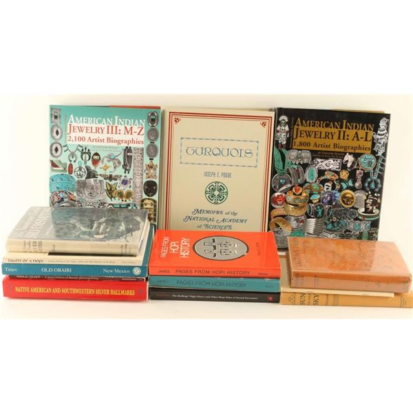 Large Lot of Hopi Related Books
